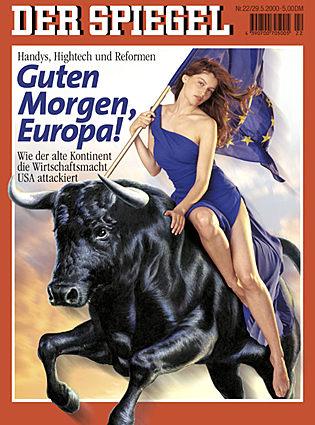 Europa, as featured on the cover of Der Spiegel magazine