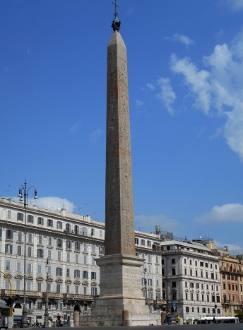 The obelisk at St. John Lateran was moved from Heliopolis by Constantine II in 357.